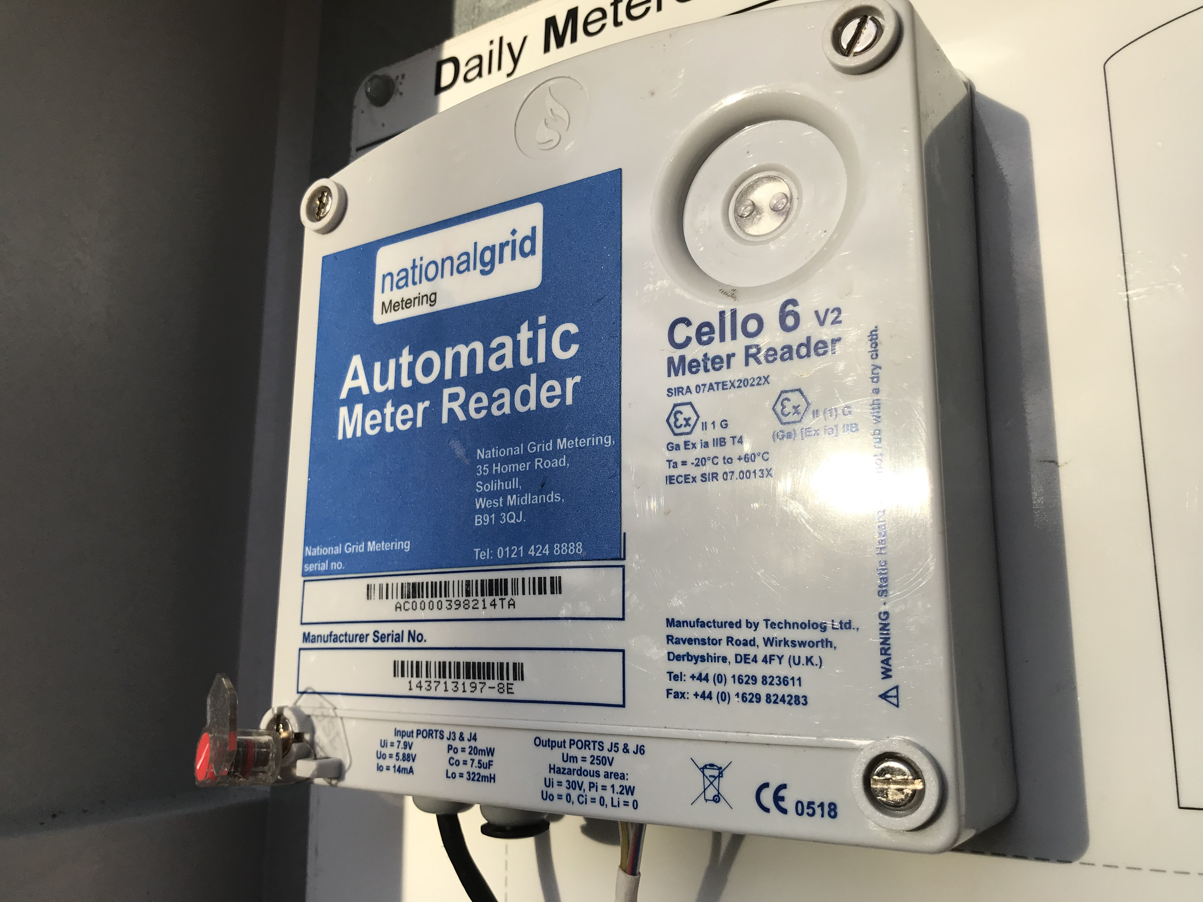 Advanced meter reading