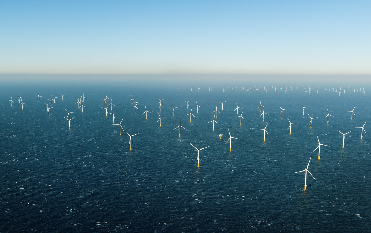 National Grid windfarm at sea for article by John Pettigrew