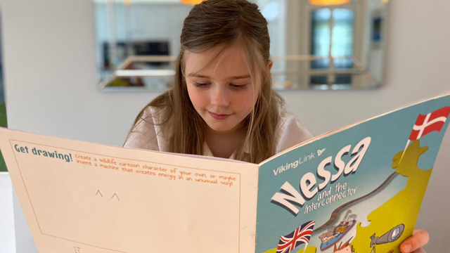 National Grid story: The story of electricity, interconnectors and a little girl called Nessa