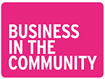 A logo that reads Business in the Community