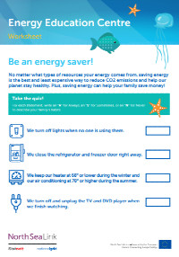 Be-an-energy-saver-worksheet