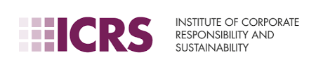 A small logo that readers Institute of Corporate Responsibility and Sustainability