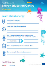 Learn-about-energy-worksheet