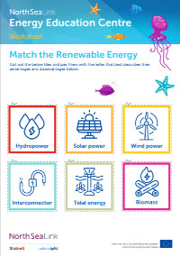Match-the-renewable-energy-worksheet