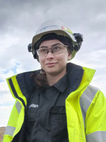 National Grid Gas Pipeline Maintenance Centre graduate trainee Natasha Bacciarelli