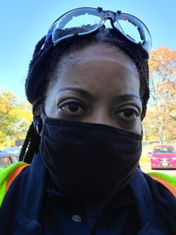 Photo of National Grid US Emergency Response Unit Technician Tina Forbes