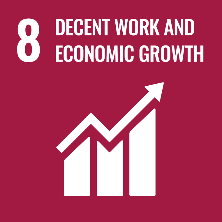 UN Goals Logo 8 - Decent work and economic growth
