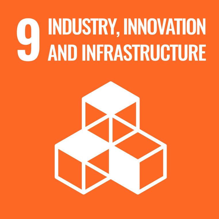 UN Goals Logo 9 - Industry, innovation and infrastructure