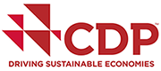 A small logo that reads CDP Driving Sustainable Economies