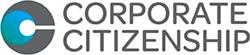 A small logo that reads Corporate Citizenship