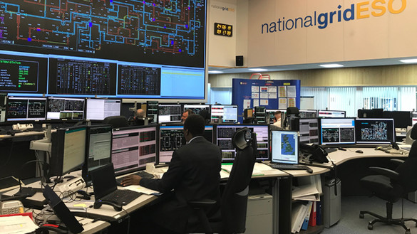 Working in the National Grid ESO Control Room