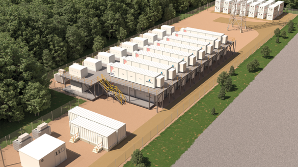 Future Battery Storage Facility at Cowley