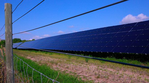 National Grid Renewable's Noble Solar Project in Denton County, Texas, US