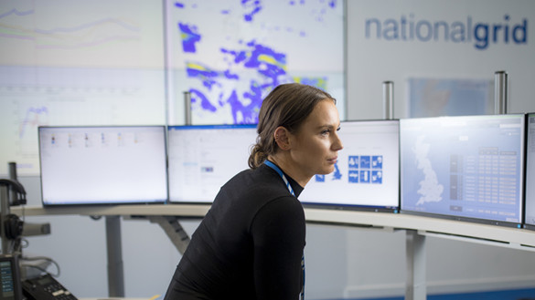 National Grid Gas National Control Centre for International Women's Day 2021 story