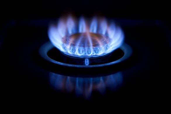 Gas flame for National Grid history timeline
