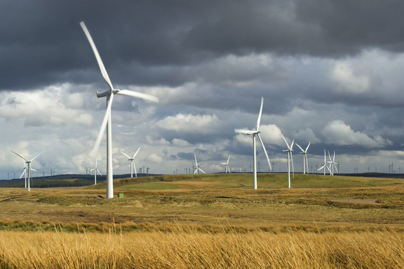 Wind farm for National Grid history timeline