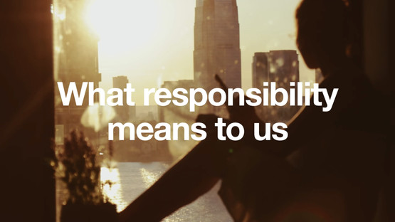 Responsibility video screen